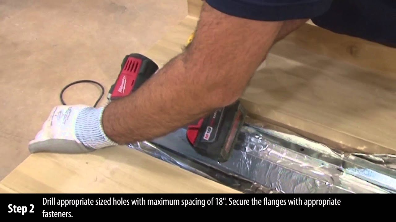 Fire Barrier Install : Cs expansion joint cover installation instructions