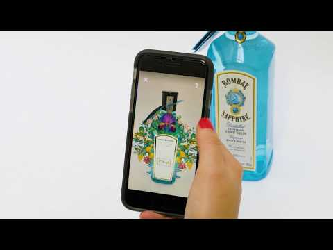 Augmented Reality for Packaging - Shazam x Bombay Sapphire