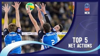 Stars in Motion Episode 3 - Top 5 Net Actions - 2016 CEV DenizBank Volleyball Champions League - Men