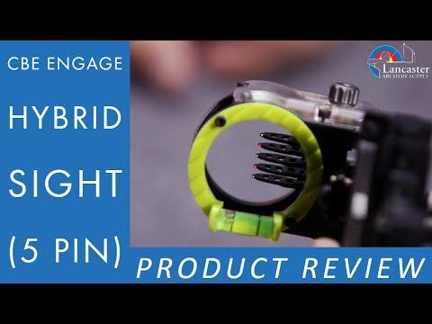 CBE Engage Hybrid Sight (5 Pin)   LancasterArchery.com Product Video