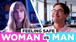 How Being In Public Feels: Men VS Women thumbnail