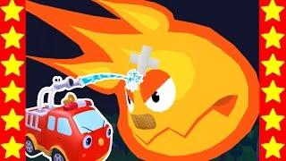 Мультик про пожар. Тушим огонь. Мультфильмы про пожарные машинки для детей. Супер пожарник!