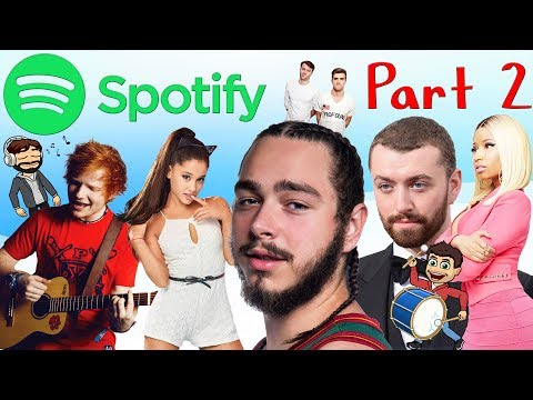 MOST POPULAR SPOTIFY ARTISTS OF 2017!!! PART 2 OF 2! Mp3