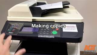 Kyocera FS 1135 / M 2535 DN Scan to Computer (WDS SCAN) / cara scan