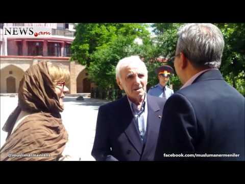 AZNAVOUR: ARMENIA MUST ACCEPT MUSLIM ARMENIANS