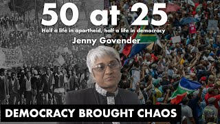 50-year old Jenny Govender spent the first 25 years of her life under an apartheid regime, and the other 25 years enjoying freedom.  EWN's Monique Mortlock spoke to her about her thoughts on democracy.