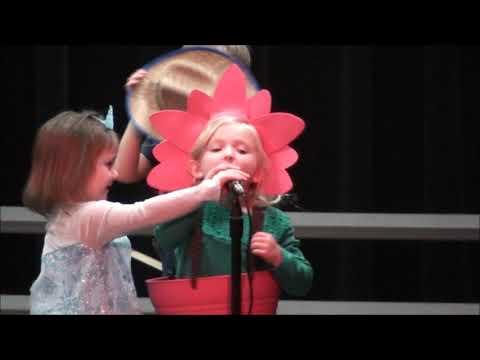Annette Perry Elementary School Kindergarten Music Program 2018 - How Does Your Garden Grow