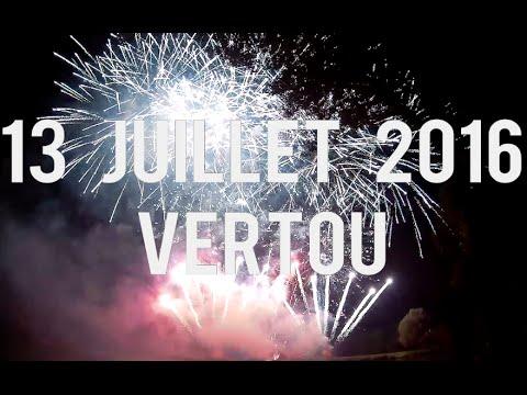 Feu d'artifice | Vertou - 13 juillet 2016 - Hit Pyro 16.1 [HD]