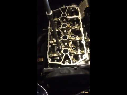 How to torque up a rover/mg k series cylinder head