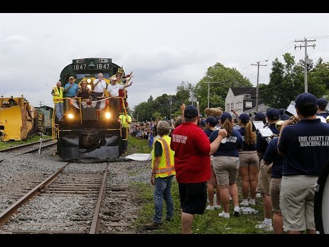Strates Shows Train Day 2018 Erie County Fair Hamburg New York