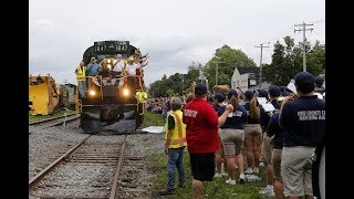 Strates Shows Train Day 2018 Erie County Fair Hamburg New York