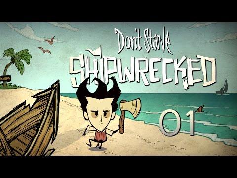Don't Starve: Shipwrecked (01) Rozbitek