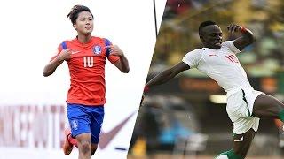 051417 U20 대한민국 VS 세네갈 2-2 하이라이트 (South Korea VS. Senegal Highlight) HD