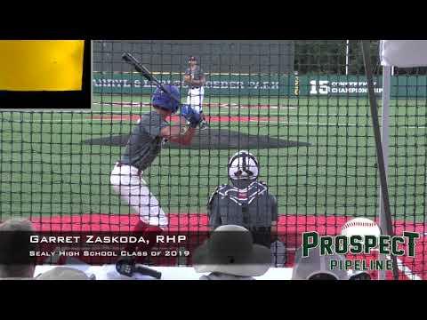 Garret Zaskoda Prospect Video, RHP, Sealy High School Class of 2019 copy