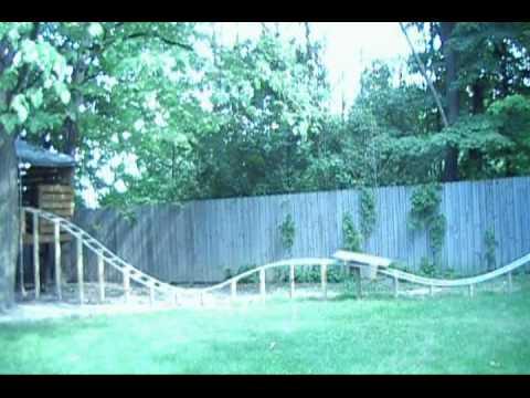 Backyard Homemade PVC Roller Coaster Thrillium ...