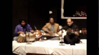 Asad Qizilbash Sarod Raza Shaukat Tabla Music Conference Lahore.wmv