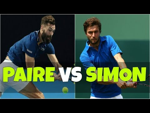 Benoit Paire vs Gilles Simon | 1R Marrakech 2018 Highlights HD