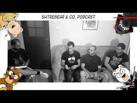 Shtrebear & Co. Podcast - Deadpool, Batman vs Superman, Dota 2, Diablo III...