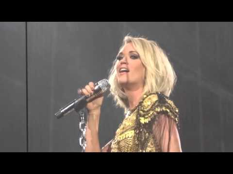 Carrie Underwood - Renegade Runaway 1-30-16 Storyteller Tour Jacksonville, FL