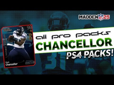 "MUT 25 - 10 Pack All Pro Bundle - Madden 25 Ultimate Team ""Kam Chancellor Football Outsiders"""