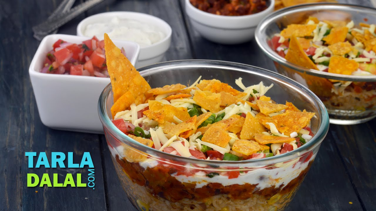 Burrito bowl veg burrito bowl by tarla dalal youtube forumfinder Gallery