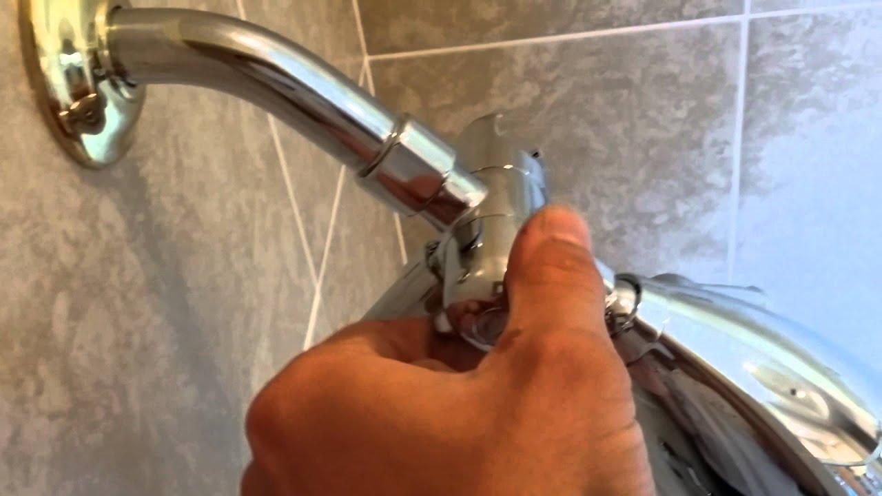 Venice Speakman Adjustable Shower Head - YouTube