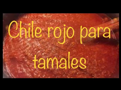 how to make chile rojo