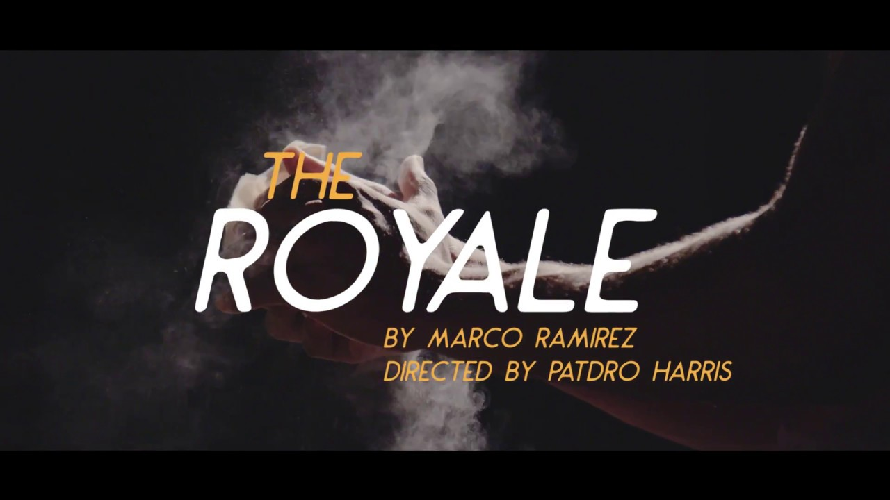 Boxing-Themed THE ROYALE Plays Theatrical Outfit Oct  10