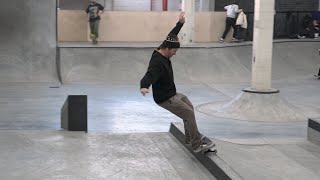 Roger Bagley Skates The Vans Skate Space 198 Sick AF!!