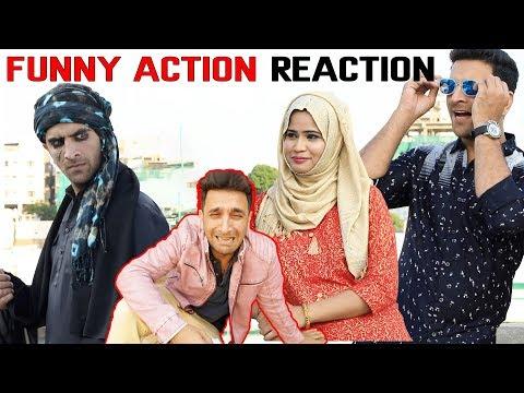 Funny Action Reaction || Shehbaaz Khan Comedy