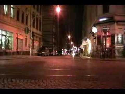 Dresden Neustadt at night II