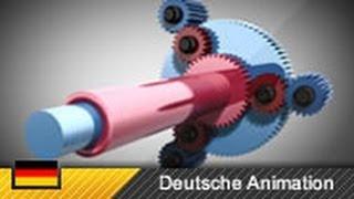 Funktion Automatikgetriebe (4-Gang) / Ravigneaux-Satz