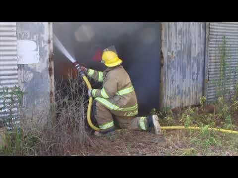 National Guard Fire