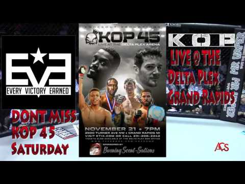 """Knockout Promotions"" 44 Blake Venne vs Corby Frisbie"