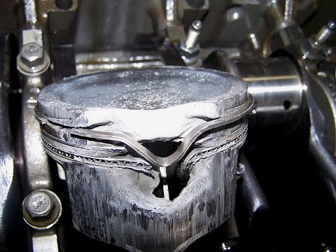 Image result for melted pistons