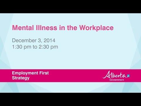 Accommodating mental illness at work