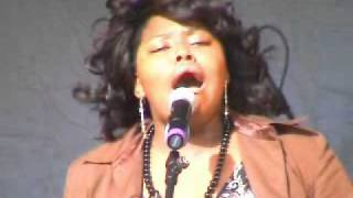Ruth Brown sings  i will always love you in 2007 at the Lambeth Country Show in Brixton, London, UK