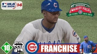 MLB 14: The Show (PS4) Chicago Cubs Franchise - EP10 (vs Reds) Chris Archer Cubs Debut