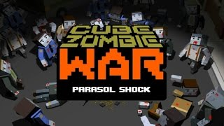 Cube Zombie War - Android Gameplay HD