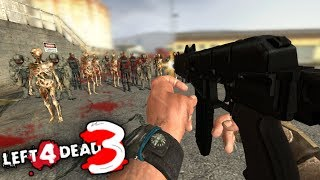 Left 4 Dead 3 Gameplay con Amigos! (Sí, es Clickbait) Funny Moments - Lechu