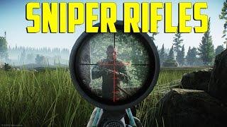 - Sniper Rifles