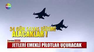 Jetleri emekli pilotlar uçuracak