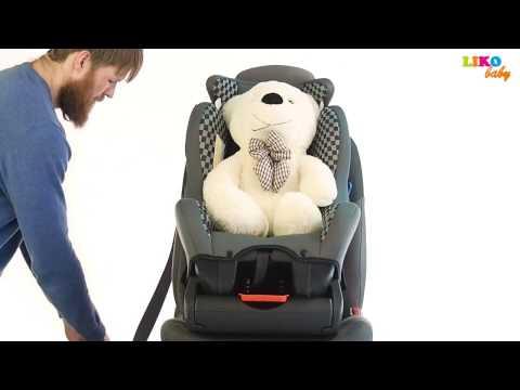 Установка Детского Автокресла в Автомобиль  -  Liko Baby LB 718