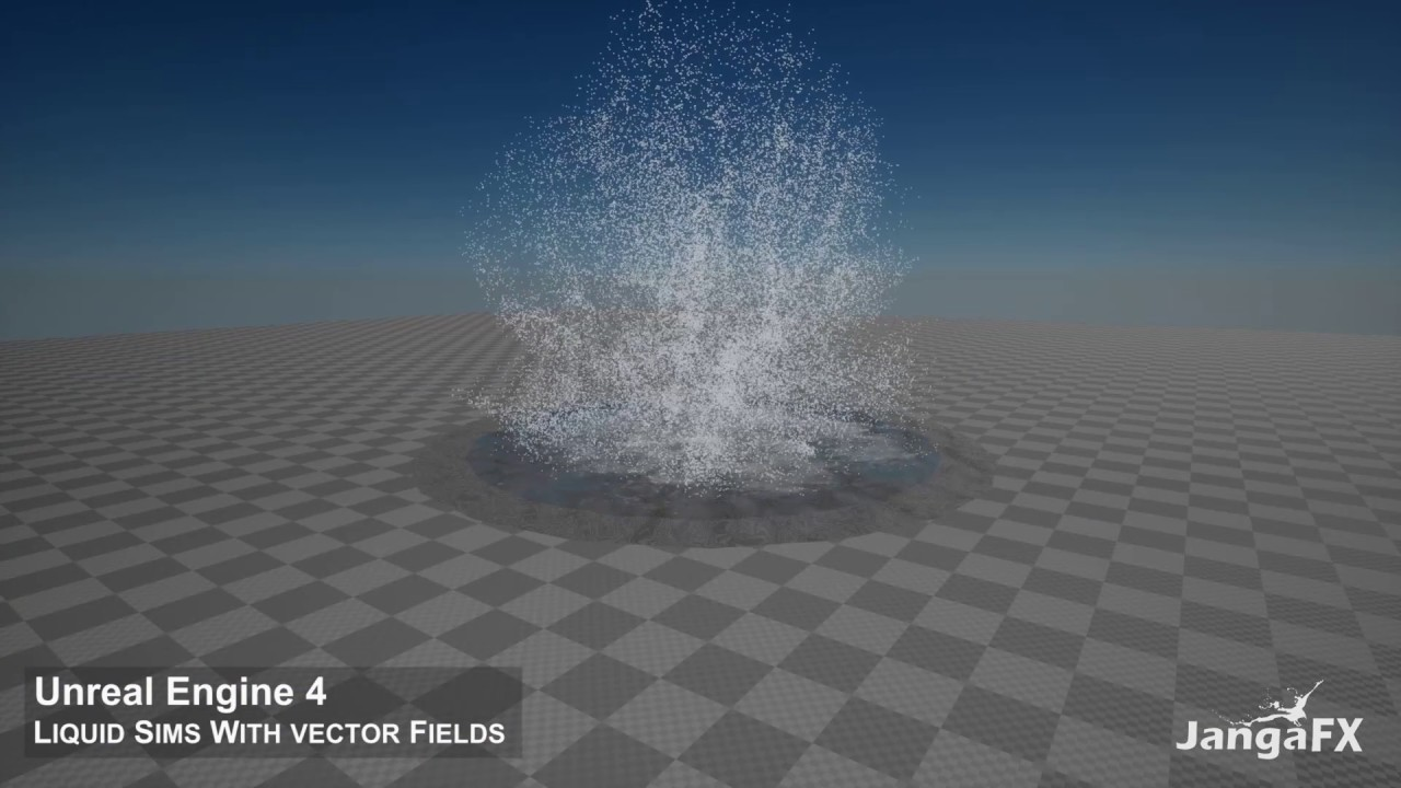UE4 - Liquid Simulation With Vector Fields