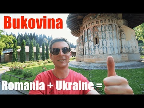 Visiting the historical region of Bukovina in both Romania & Ukraine | Travel Vlog: Bucovina