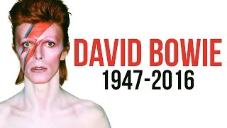 David Bowie, Legendary Influential Musician, Has Died