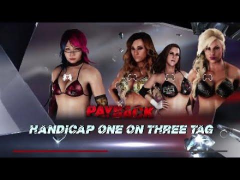 wrestling handicap match Bikini