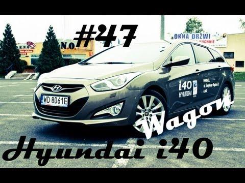 Test Hyundai i40 Wagon 1.7 CRDi 136 KM 47 Jazdy Prbne