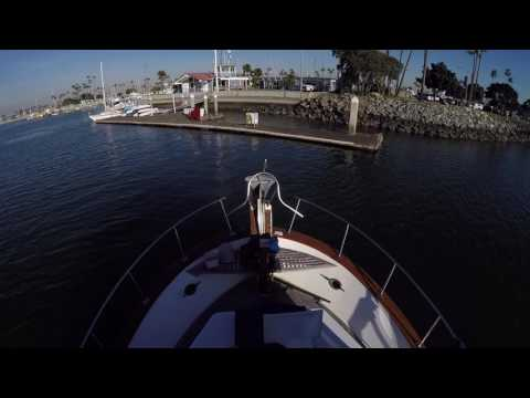Docking practice, single engine, no thruster.