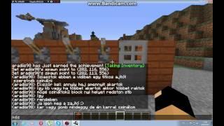 Minecraft Redstone Tutorial:kódos ajtó